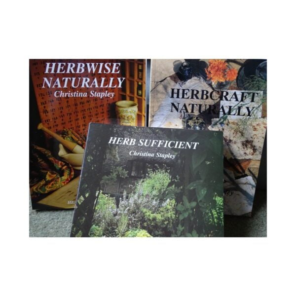 Herbise Naturally, Herbcraft Naturally, Herb Sufficient books by Christina Stapley, Medical Herbalist, Medical Herbalist Books, Medical Herbalist Training, Medical Herbalist Courses, Christina Stapley Medical Herbalist